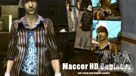 Maccer HD Replacer для GTA San Andreas