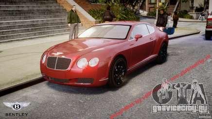 Bentley Continental GT 2004 для GTA 4