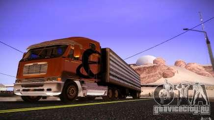 Freightliner Argosy для GTA San Andreas