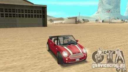 Mini Cooper Convertible для GTA San Andreas