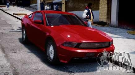 Ford Shelby GT500 2010 для GTA 4