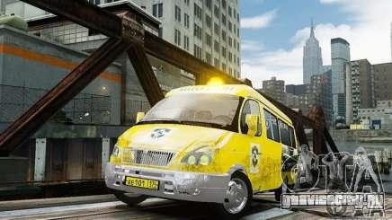 ГАЗель 2705 Такси v2.0 для GTA 4
