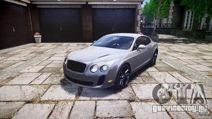 Bentley Continental SuperSports 2010 [EPM] для GTA 4