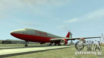 Fly Kingfisher Airplanes without logo для GTA 4