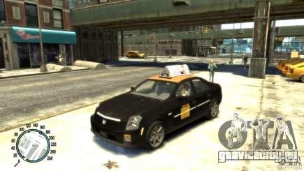 Cadillac CTS-V Taxi для GTA 4