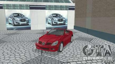 Mercedes-Benz SLK 350 для GTA San Andreas
