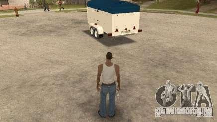 Прицеп для Ford Transit 2007 для GTA San Andreas