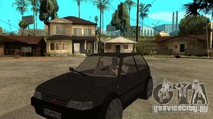 Kia Pride серый для GTA San Andreas