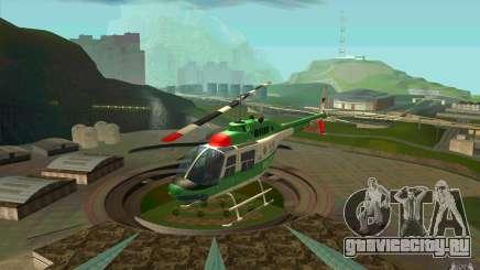 Bell 206 B Police texture3 для GTA San Andreas