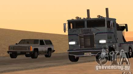 Kenworth K100 Towtruck для GTA San Andreas