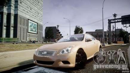 Infiniti G37 Coupe Sport для GTA 4