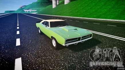 Dodge Charger RT 1969 tun v1.1 для GTA 4