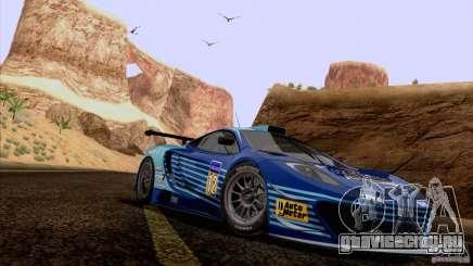 Покрасочные работы для McLaren MP4-12C Speedhunters Edition для GTA San Andreas