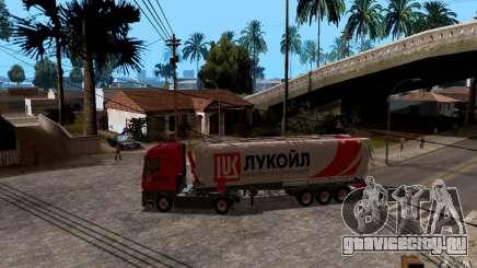 Прицеп Лукойл для Mercedes-Benz Actros для GTA San Andreas