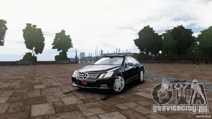Mercedes Benz E500 Coupe для GTA 4