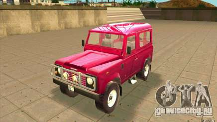 Land Rover Defender 90SW для GTA San Andreas