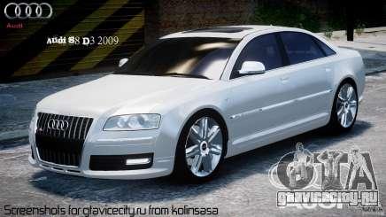 Audi S8 D3 2009 для GTA 4