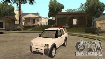 Land Rover Discovery 3 V8 для GTA San Andreas