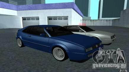 Volkswagen Corrado бирюзовый для GTA San Andreas