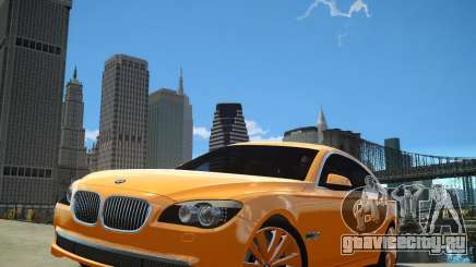 BMW 750Li  2010 для GTA 4