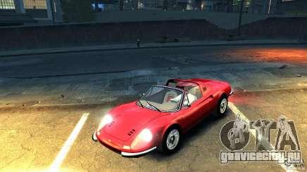 Ferrari Dino 246 GTS для GTA 4