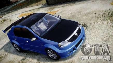 Dacia Logan 2008 [Tuned] для GTA 4