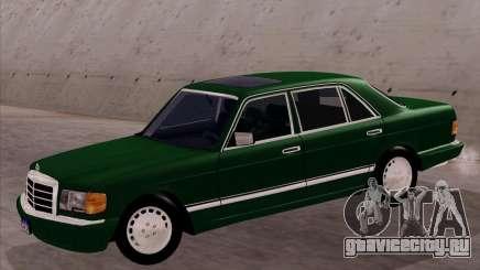 Mercedes-Benz 500SEL для GTA San Andreas