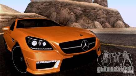 Mercedes Benz SLK55 R172 AMG для GTA San Andreas