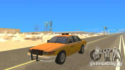 Taxi from GTAIV для GTA San Andreas