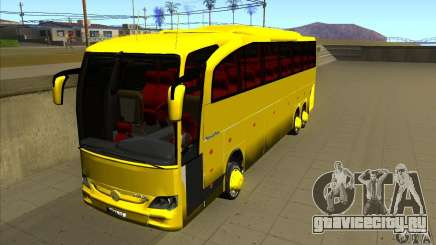 Mercedes-Benz Travego жёлтый для GTA San Andreas