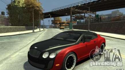 Bentley Continental GT SS для GTA 4