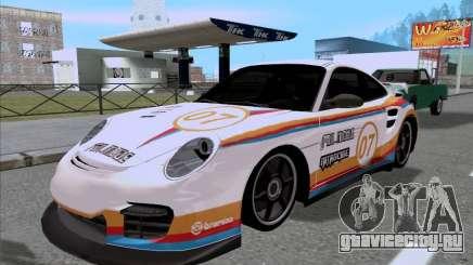 Porsche 997 GT2 Fullmode для GTA San Andreas
