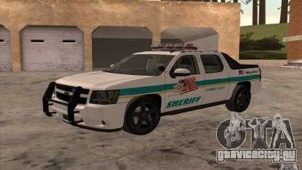 Chevrolet Avalanche Orange County Sheriff для GTA San Andreas