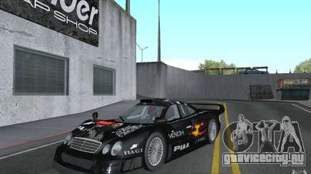 Mercedes-Benz CLK GTR road version (v2.0.0) для GTA San Andreas