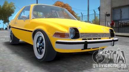 AMC Pacer 1977 v1.0 для GTA 4