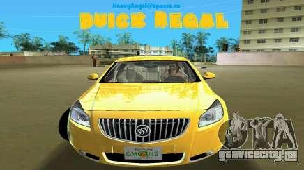 Buick Regal для GTA Vice City