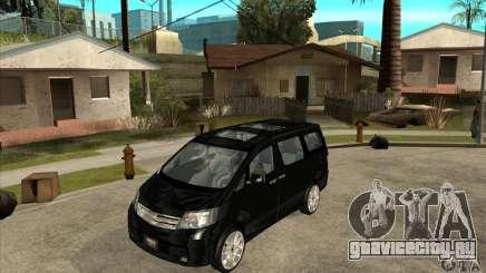 Toyota Alphard Hybrid для GTA San Andreas