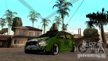 Volkswagen Touran The Hulk для GTA San Andreas