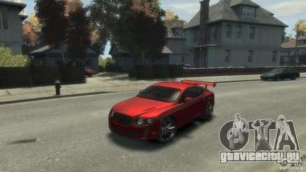 Bentley Continental SS для GTA 4