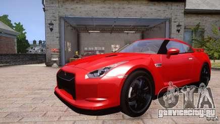 Nissan GTR R35 v1.0 для GTA 4