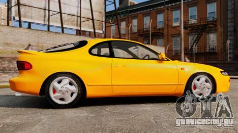 Toyota Celica ST185 GT4 для GTA 4 вид слева