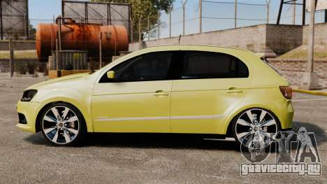 Volkswagen Gol G6 для GTA 4 вид слева