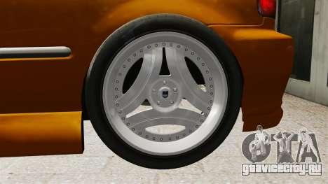 Honda Civic Gtaciyiz 2 для GTA 4 вид изнутри