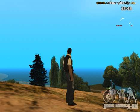 White Chrome Desert Eagle для GTA San Andreas второй скриншот