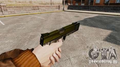 Самозарядный пистолет H&K USP v5 для GTA 4