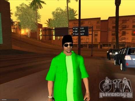 Новый скин Groove st. для GTA San Andreas