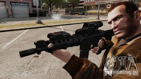 Тактическая M4 v2 для GTA 4 четвёртый скриншот