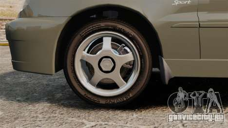 Daewoo Lanos Sport PL 2000 для GTA 4 вид сзади