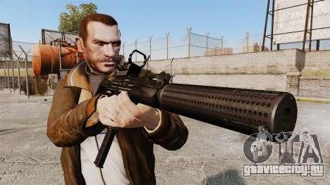 Тактическая узи v2 для GTA 4 третий скриншот