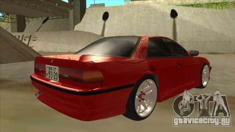 Toyota Chaser JZX81 Touge Style для GTA San Andreas вид справа